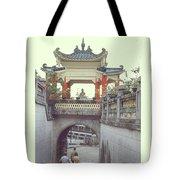 Hong Kong Pagoda Tote Bag