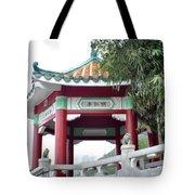 Hong Kong Temple Tote Bag