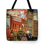 Honky Tonk Row - Nashville Tn Tote Bag