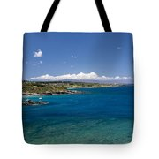 Honolua Bay Tote Bag by Jim Thompson