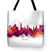 Honolulu Hawaii Cityscape 14 Tote Bag