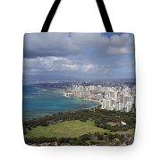 Honolulu Oahu Hawaii Tote Bag