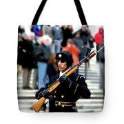 Honor Guard At Arlington Cemetery Tote Bag