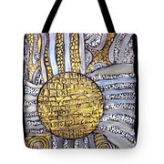 Honor To The Sun Tote Bag