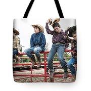 Honoring A Fallen Cowboy Tote Bag