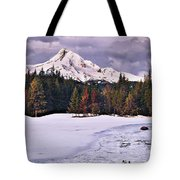 Hood On Ice Tote Bag