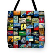 Hood Ornament Art -10 Tote Bag by Jill Reger