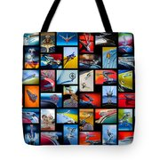 Hood Ornament Art -12 Tote Bag by Jill Reger