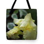 Hooded Iris Tote Bag