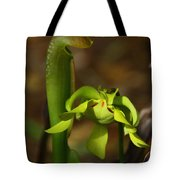Hooded Pitcher Plant Tote Bag