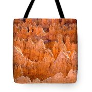 Hoodoos And Other Eroded Cliffs Light Tote Bag