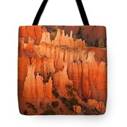 Hoodoos At Sunrise Bryce Canyon National Park Utah Tote Bag
