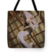 Hook And Pulley Tote Bag