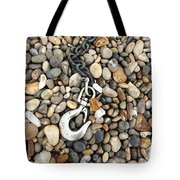 Hook, Chain And Pebbles Tote Bag