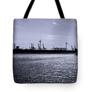 Hook Of Holland Shipping Canal Tote Bag