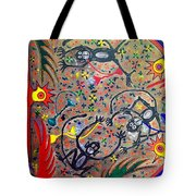 Hookah Monkeys - Jinga Monkeys Series Tote Bag