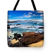 Hookipa Sunrise #3 Tote Bag