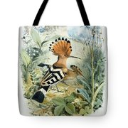Hoopoe Tote Bag