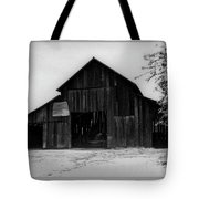 Hoops At The Barn Tote Bag