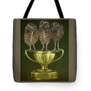 Hoo's On First Tote Bag