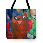 Hoots The Fall Owl Tote Bag