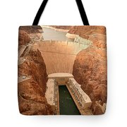 Hoover Dam Scenic View Tote Bag