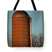 Hoover Pumps Atop Silo Tote Bag