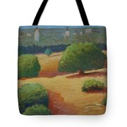 Hoover Tower In Sight Tote Bag