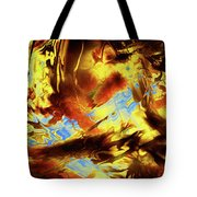 Hope Above Broken Skies Tote Bag