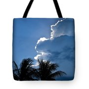 Hope Emerges From The Storm Tote Bag