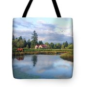 Hope Is Not A Dream - Hope Valley Art Tote Bag