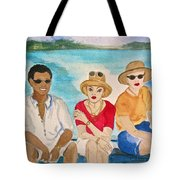 Hope Town Ferry  Tote Bag