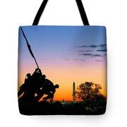 Hopeful As The Dawn Tote Bag