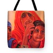 #hopeful In India Tote Bag