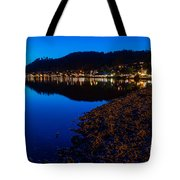 Hopfensee Lake Landscape Tote Bag