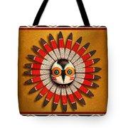 Hopi Owl Mask Tote Bag