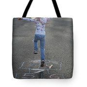 Hopscotch Queen Tote Bag