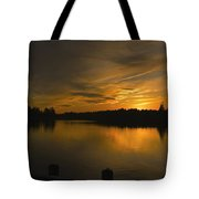 Horicon Lake, Lakehurst, Nj Tote Bag
