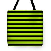 Horizontal Black Inside Stripes 09-p0169 Tote Bag