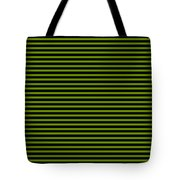 Horizontal Black Outside Stripes 30-p0169 Tote Bag