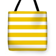 Horizontal White Inside Stripes 05-p0169 Tote Bag