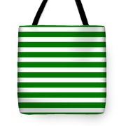 Horizontal White Inside Stripes 09-p0169 Tote Bag