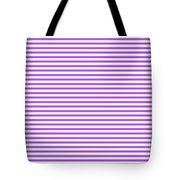 Horizontal White Outside Stripes 30-p0169 Tote Bag