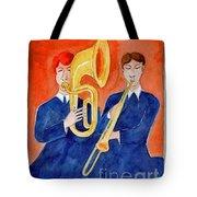 Horn Duo Tote Bag