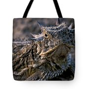 Horn Toad Tote Bag