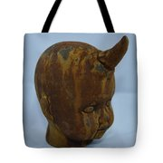 Horned Baby Tote Bag
