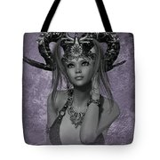Horned Beauty Tote Bag