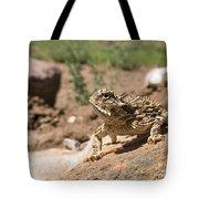 Horned Lizard Tote Bag