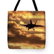 Hornet Sunset Tote Bag