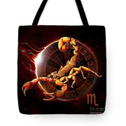 Horoscope Signs-scorpio Tote Bag